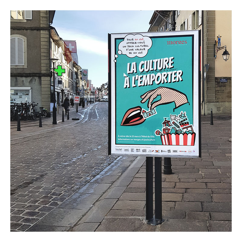 Morges Campagne Relance Culturelle